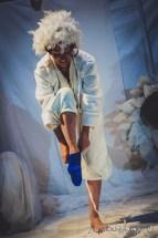 Spectacle Monsieur Bleu - 2015 - Une Petite voix m'a dit - Sabine Venaruzzo - Raphael Zweifel