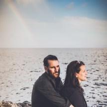 Photos de Couple - Sous l'arc-en-ciel - sentier des douaniers
