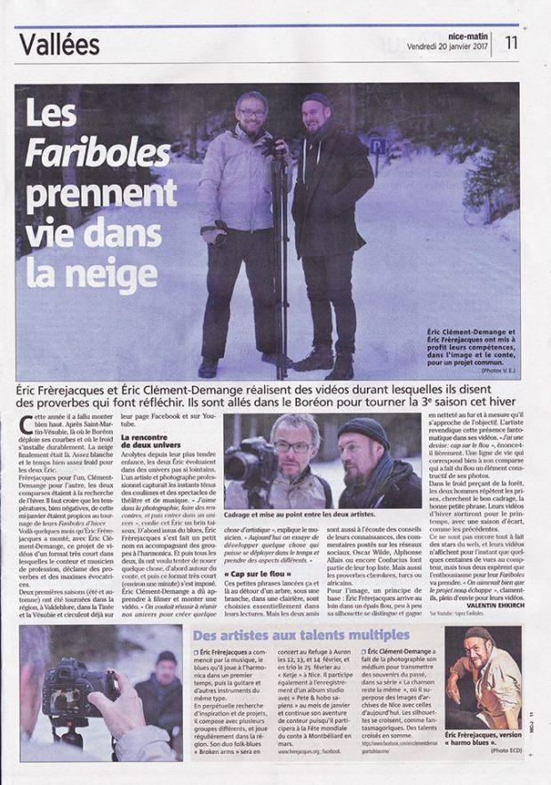 Eric Clément-Demange Eric Frèrejacques fariboles