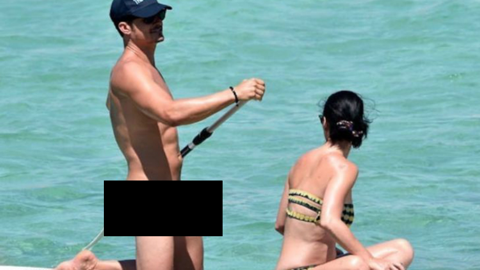 Orlando Bloom se desnuda con Katy Perry en la playas de Italia [FOTOS]