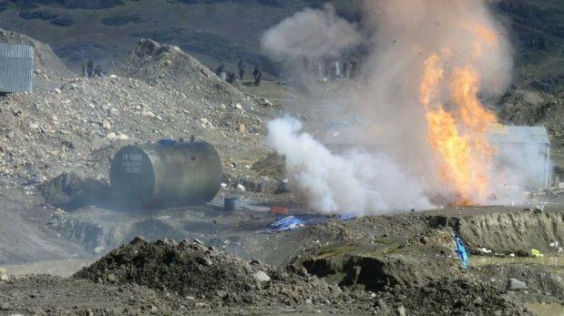 Minería ilegal: 14 interdicciones se han realizado este año