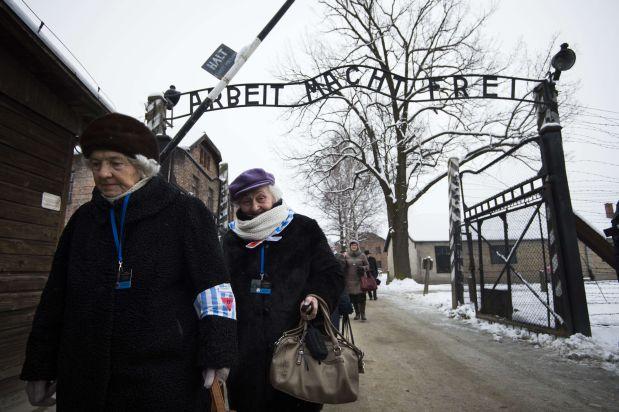 El primer hombre que entró a Auschwitz tras su liberación
