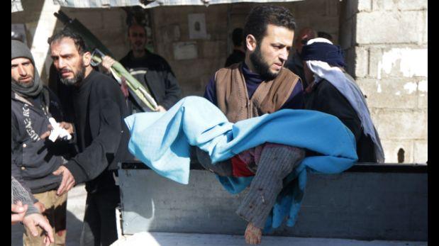 Siria: Lluvia de misiles deja 70 muertos en Damasco