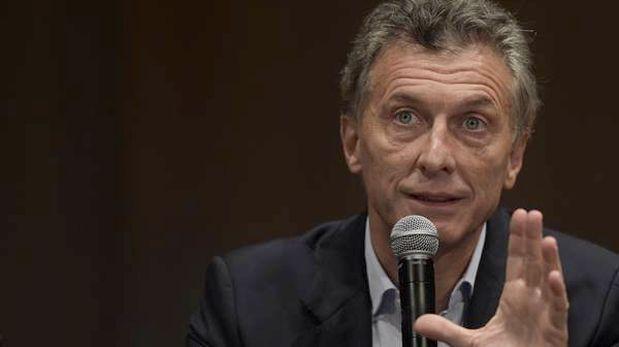 Macri: Fuerzas de seguridad han sido penetradas por las mafias
