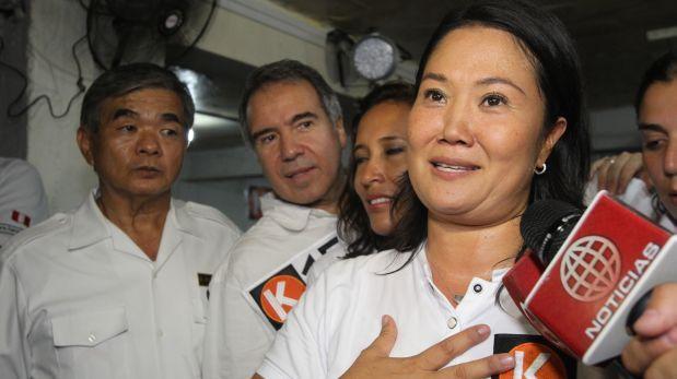 """Keiko Fujimori: """"Mi padre sabe que yo tomo las decisiones"""""""