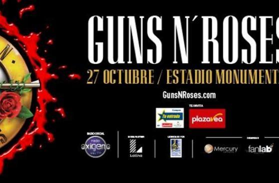 Guns N' Roses: confirman concierto de la banda en Lima