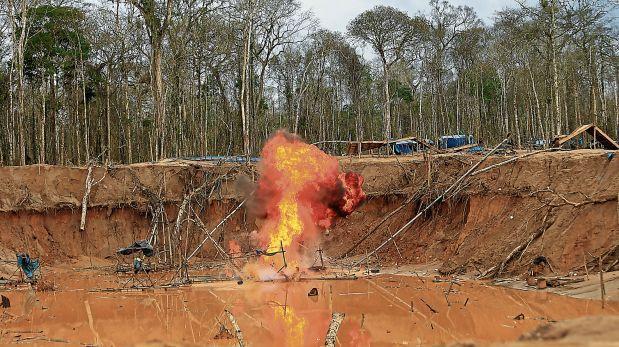 Minería ilegal: megaoperaciones de interdicción en pausa