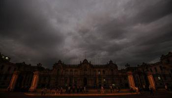 Así se vio el cielo de Lima en emergencia por desbordes [FOTOS]