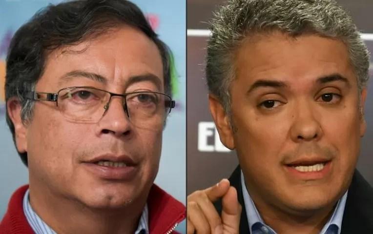 Colombia: Izquierdista Petro y derechista Duque pasan a segunda vuelta   Internacionales