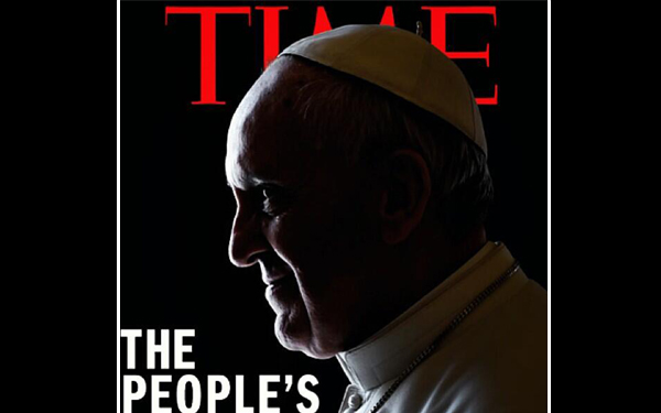 ¿La revista Time le puso 'cuernos' al papa Francisco?