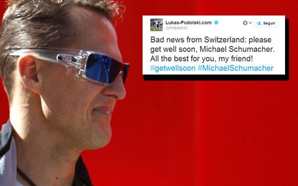 Michael Schumacher en coma: famosos del deporte mundial están consternados