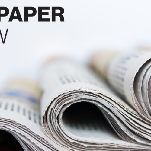 What's on today's newspapers?