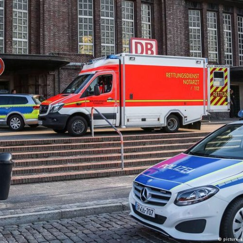 One killed, two injured in knife attack on a train in Germany