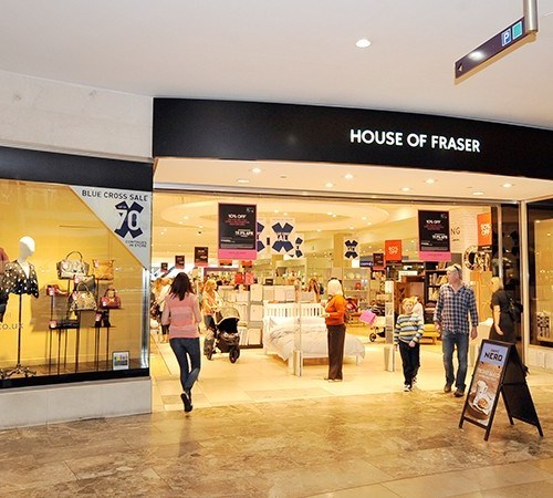 House of Fraser to close more than half its UK stores