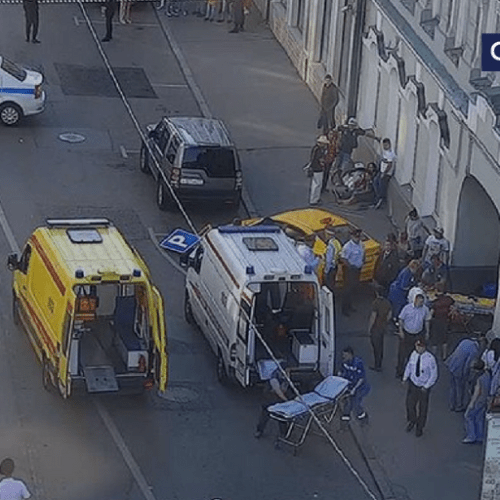 Taxi driver who hit Moscow pedestrians fell asleep while driving – Moscow Police