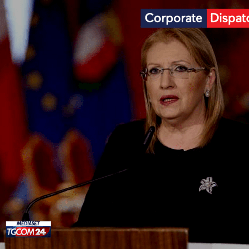 Malta's President: Malta and Italy have to work together and challenge divisive tactics and populist theories that stimulate hate.