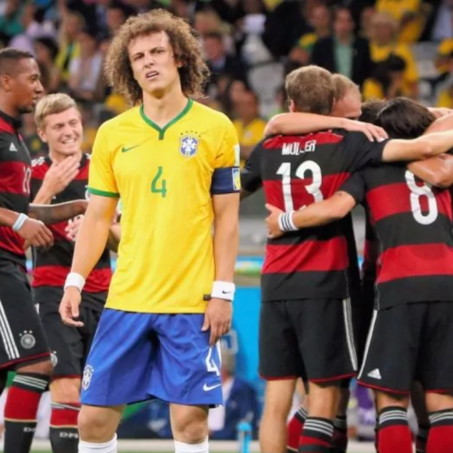 Goal net from Brazil's World Cup disaster 7 – 1 loss against Germany to be sold for charity