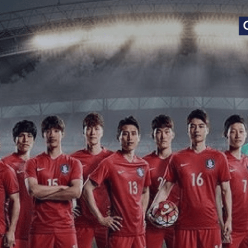 South Korea's coach made players wear different numbered shirts to confuse opponents