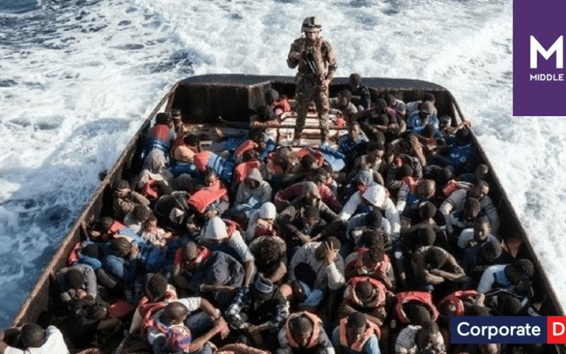 Five migrants dead off the coast of Libya