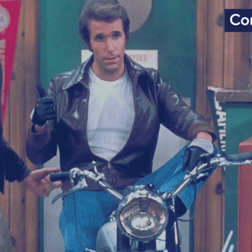 Fonzie's 1949 Triumph TR5 Trophy from the hit sitcom Happy Days sells for $179,200