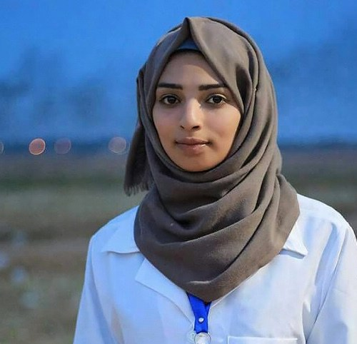 Thousands attend funeral of 21 year old nurse killed on the border between Gaza and Israel.