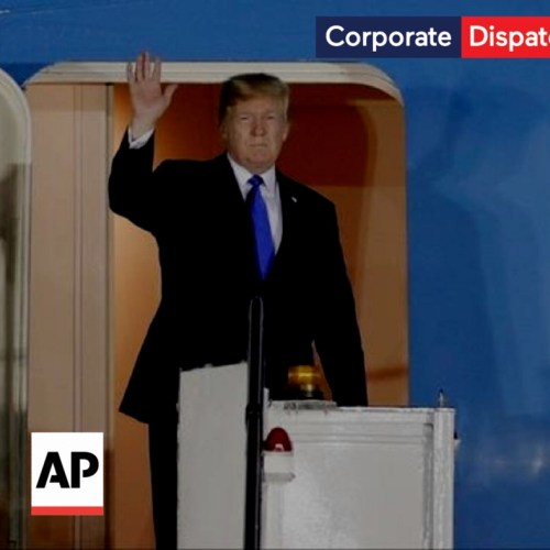 Donald Trump and Kim Jong Un arrive in Singapore for anticipated summit