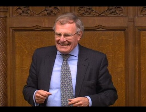 Tory MP Sir Christopher Chope blocks proposed upskirting law to cries of 'shame'