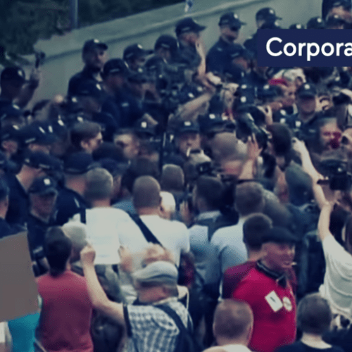 Protests against changes in the judiciary in Poland