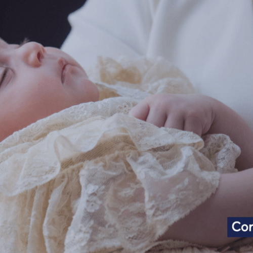 Royal Family's Prince Louis christened