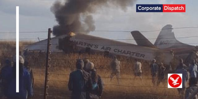 air crash south africa