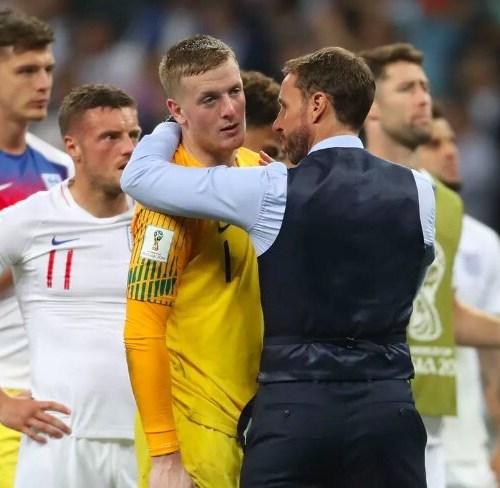 British reactions on England's elimination