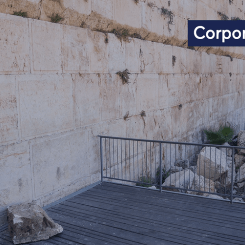 Reform Jews should reflect on the significance of a large stone that came crashing down on the Western Wall's egalitarian prayer plaza earlier in the day – Deputy Mayor