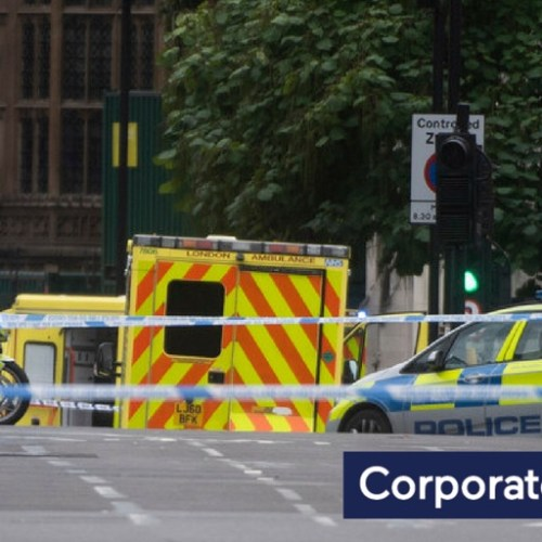 Breaking News: Man arrested after vehicle drove into security barriers outside UK Parliament (Updated)