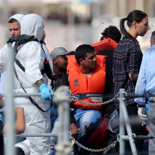 Over 80 migrants rescued by AFM