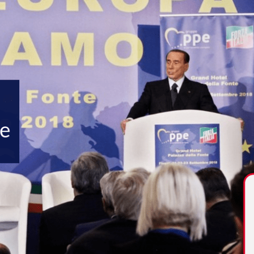 Berlusconi announces he'll be contesting the next European Parliament elections