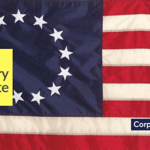 On this day in 1777, the Stars and Stripes was flown for the first time