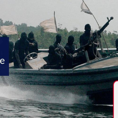 Pirates kidnap 12 crew members on board Swiss cargo ship off the coast of Nigeria