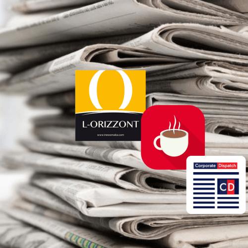 L-Oriżżont Headlines – 21st May 2019