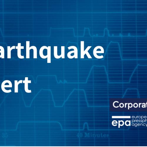 3.3 magnitude earthquake felt between Catania and Syracuse
