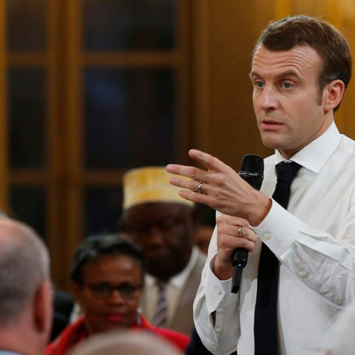 If being in favour of better salaries and having a more effective parliament is 'Gilet Jaune', then I am one – Emanuel Macron