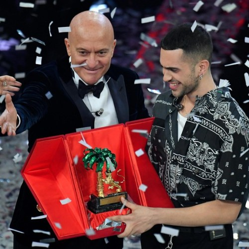 Sanremo winner Mahmood confirms he'll represent Italy during Eurovision