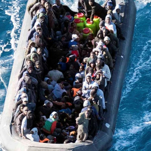 Boat with 150 people on board in distress rescued and people taken back to Libya – Salvini