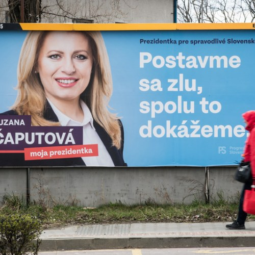 Corruption and democracy take centre stage in Slovakia's presidential election