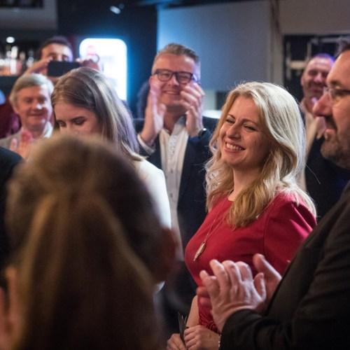 Anti-Corruption politician Zuzana Čaputová takes lead in Slovakkia's presidential election