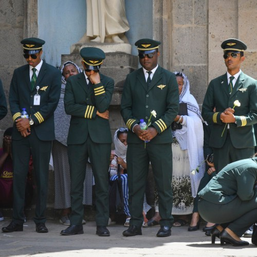 SlideShow – Burial Service held for victims of Ethiopian Airlines crash