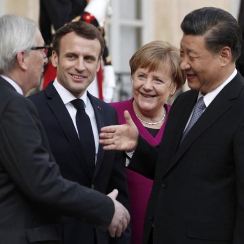 Cooperation between China and Europe dominates meetings' agenda