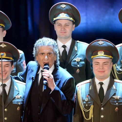Moment of anxiety during Toto Cutugno concert in Kiev