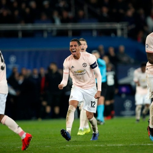Manchester United are through to the Quarter Finals after beating Paris St Germain in France