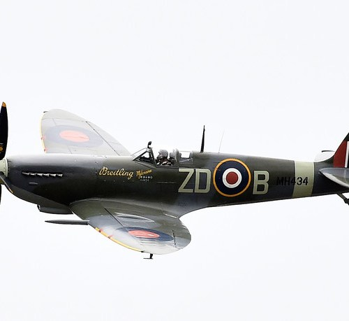 Spitfire pilot finally laid to rest with full military honours after nearly 75 years 'missing in action'