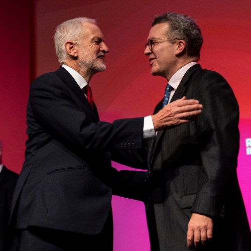 Brexit: Labour's Deputy Leader Tom Watson walks out from shadow cabinet meeting